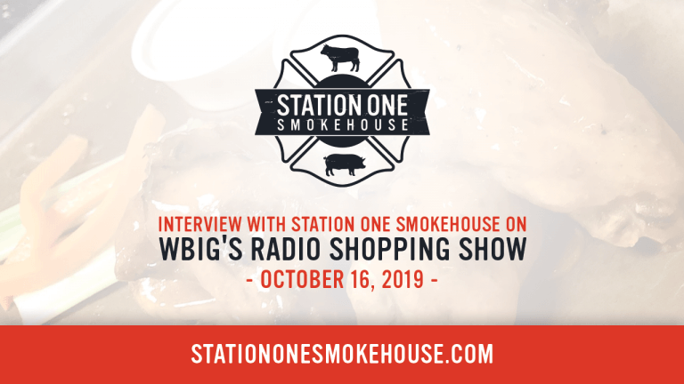 Station One Smokehouse Radio Interview on WBIG's Radio Shopping Show