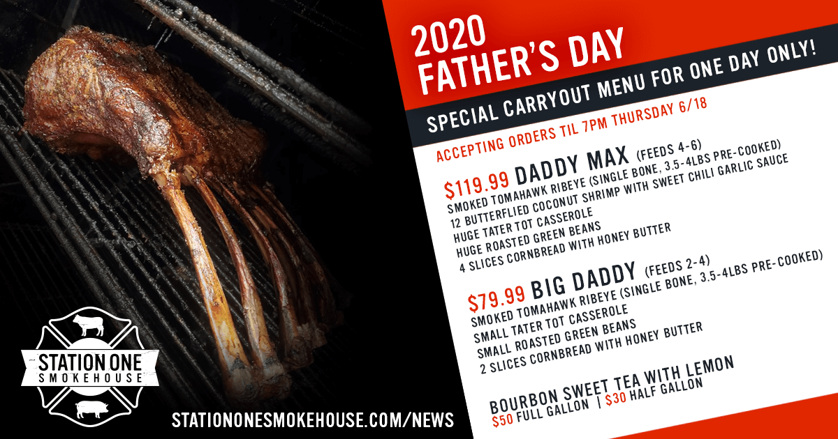 Father's Day 2020 is SOLD OUT