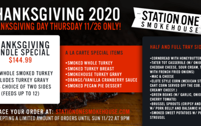 SOLD OUT: Thanksgiving 2020