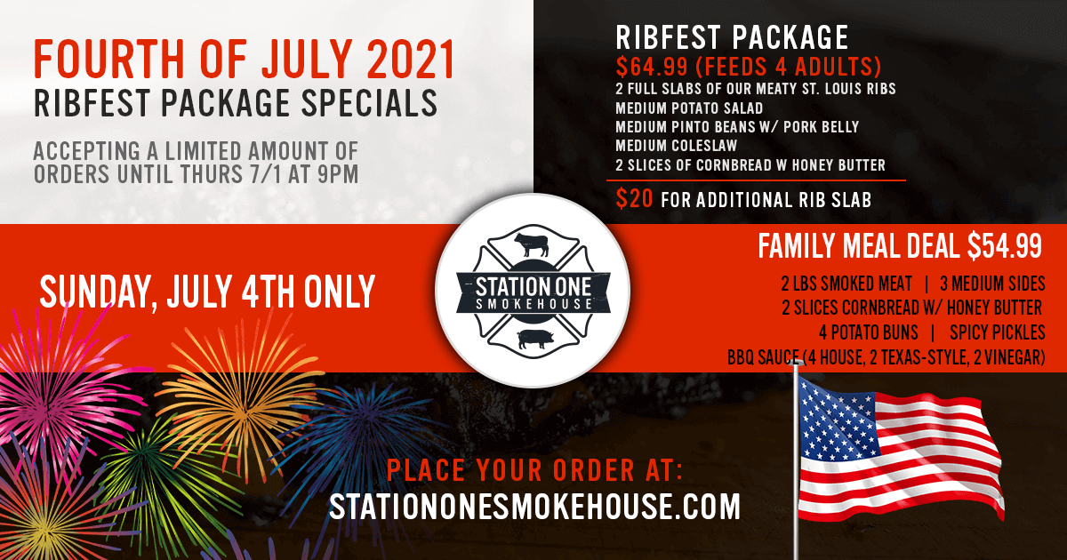 4th of July 2021 Orders now Available